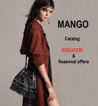 Mango catalog reduceri primavara 2016