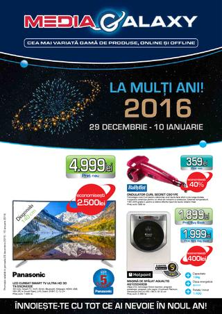 Media Galaxy catalog - La multi Ani 2016 - din 10 Ianuarie 2016