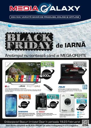 Media Galaxy catalog Black Friday de Iarna - 18-23 Februarie 2016