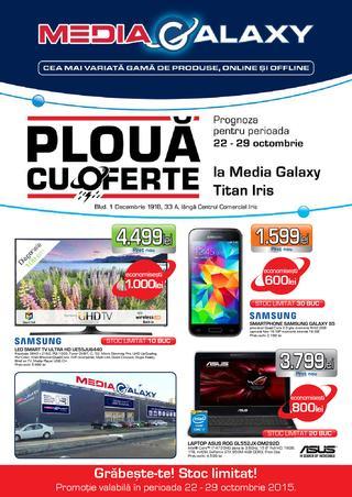 Media Galaxy catalog Ploua cu ofrete - 22 - 29 Octombrie 2015