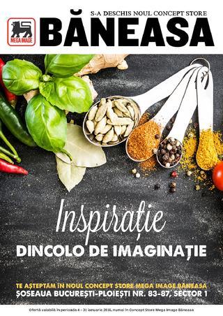 Mega Image catalog Inspiratie Dincolo de Imaginatie - 4-31 Ianuarie 2016