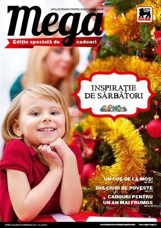 Mega Image catalog Inspirate de Sarbatori - 19 Novembrie - 31 Decembrie 2015