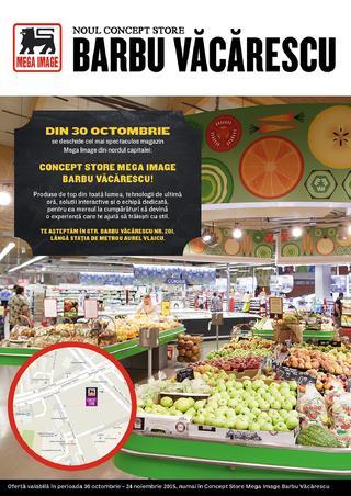 Mega Image catalog Barbu Vacarescu - 30 Octombrie - 24 Noiembrie 2015