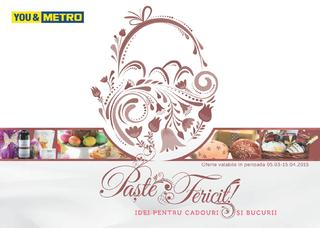 Merto catalog CADOURI  de PASTE 2015