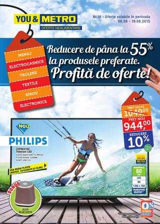 Metro catalog profita de august 2015