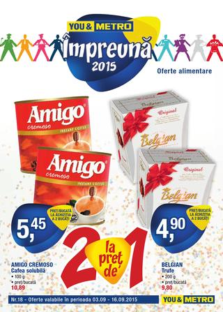 Metro catalog alimentare septembrie 2015