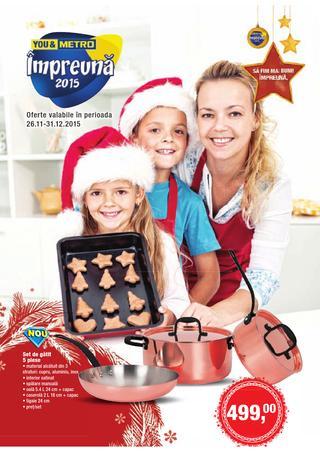 METRO catalog Copt si gatit - 26 Noiembrie - 31 Decembrie 2015