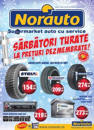 NORAUTO catalog - pregatiti-va masina de iarna - 30 noiembrie - 31 decembrie 2015