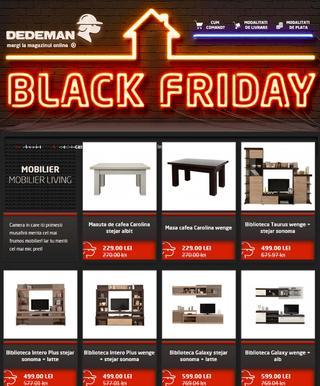 Oferte Dedeman Black Friday - 2015