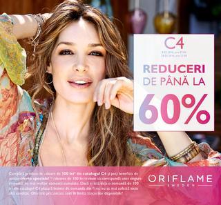 Oriflame catalog C4 REDUCERI de Pana la 60% - 8-28 Martie 2016