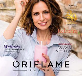Oriflame catalog c15 In Tendinte Culorile Sezonului - 27 Octombrie - 16 Moiembrie 2015