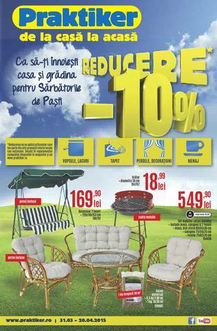 PRAKTIKER - catalog REDUCERE de Paste 2015