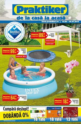 PRAKTIKER - catalog oferte 15 iunie - 5 iulie 2015