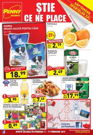 Penny Market ONLINE catalog 11 - 17 februarie 2015