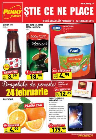 Penny Market ONLINE catalog 18 - 24 februarie 2014