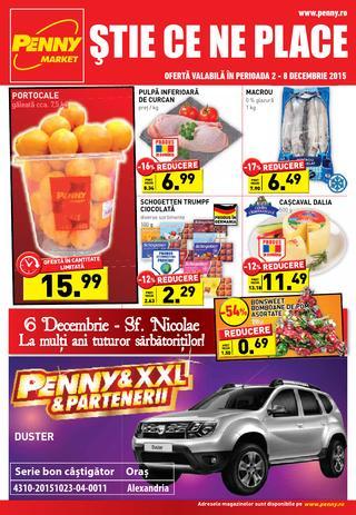 Penny Market - oferte 2 - 8 decembrie 2015