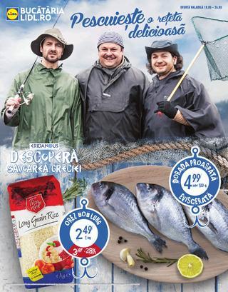 Pescuiește o reţeta delicioasa - catalog  LIDL  18 - 24 mai 2015
