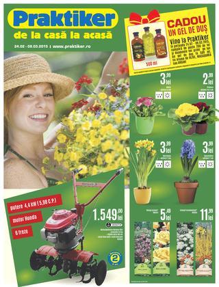 Praktiker - online catalog 24 februarie - 9 martie 2015