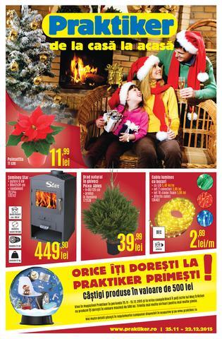 Praktiker catalog Orice Iti Doresti La Praktiker Primesti - 25 Noiembrie - 22 Decembrie 2015