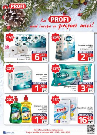 Profi catalog NON FOOD - 9-19 Ianuarie 2016