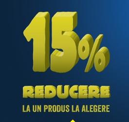 REDUCERE 15% la un produs la alegere - Praktiker 3 - 9 februarie 2015 - REGULAMENT OFICIAL