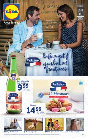 Rafinamentul gustului frantuzesc - catalog Lidl - 5 - 11 octombrie 2015