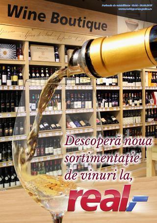 Real - descopera noua sortimentatie de vinuri - catalog 3 - 30 septembrie 2015