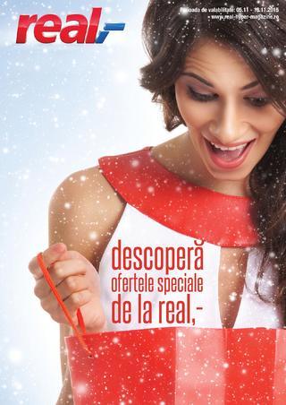 REAL catalog Descoper ofertele speciale  - 5-18 Noiembrie 2015