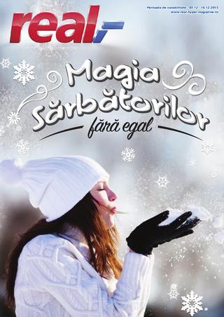 REAL catalog Magia Sarbatorilor fara egal - 2-16 Decembrie 2015