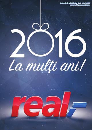 Real catalog 2016 La multi ani - 17-31 Decembrie 2015