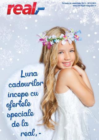 REAL catalog Luna cadourilor incepe cu ofertele speciale  - 19 Noiembrie - 2 Decembrie 2015