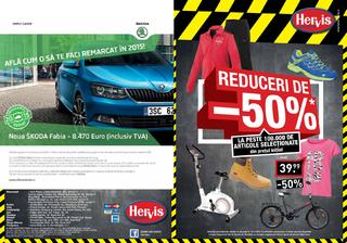 Reducere de 50 % la peste 100 000 de produse la Hervis Sports