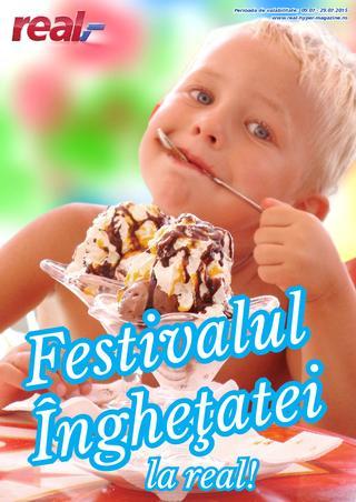 Revista Real - festivalul inghetatei 9 - 29 iulie 2015