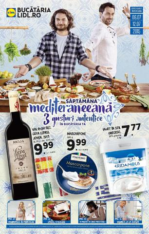 Saptamana mediteraneeana la Lidl 6 - 12 iulie 2015