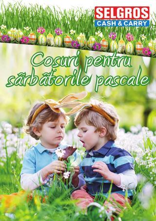 Selgros catalog - Cosuri de Paste - 1 martie - 11 aprilie 2015