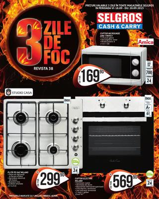 Selgros 3 zile catalog septembrie 2015