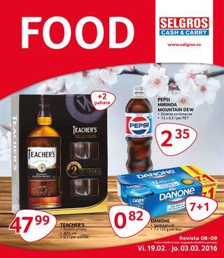Selgros catalog Food - 19 Februarie - 3 Martie 2016