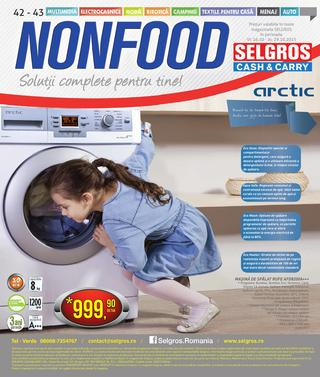 Sekgros NONFOOD catalog - 16 Octombrie - 29 Octombrie 2015
