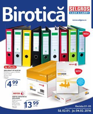 Selgros catalog Birotica - 2 Ianuarie - 4 Februarie 2016