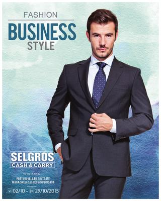selgros catalog fashion business style octombrie 2015