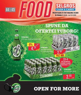 Selgros catalog FOOD - 29 Octombrie - 12 Noiembrie 2015
