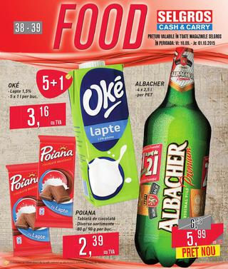 Selgros catalog food septembrie 2015