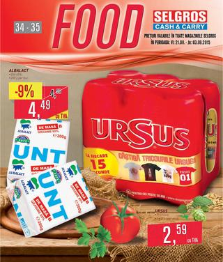 Selgros catalog food 34