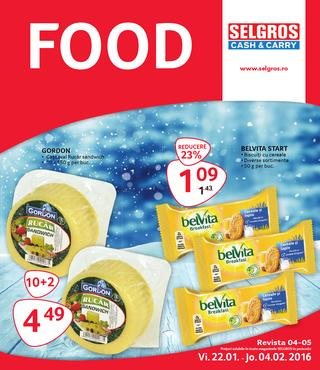 Selgros catalog FOOD - 22 Ianuarie - 4 Februari 2016