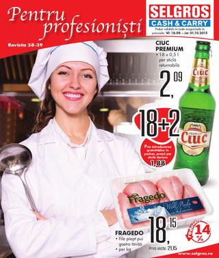Selgros catalog gastro septembrie 2015