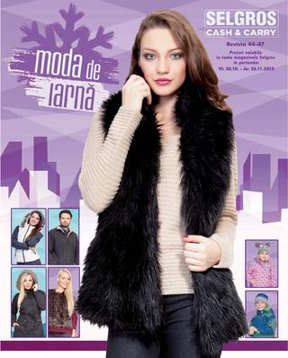 Selgros catalog Moda de Iarna - 29 Octombrie - 26 Noiembrie 2015