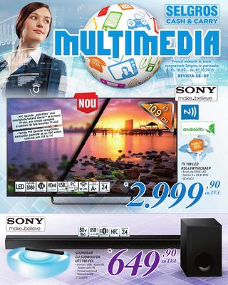 Selgros catalog multimedia 2015