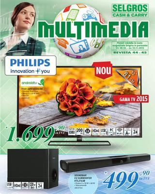 Selgros catalog MULTIMEDIA - 29 Octombrie - 12 Noiembrie 2015