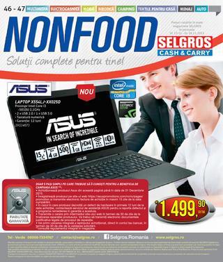 Selgros catalog NONFOOD - 12-26 Noiembrie 2015