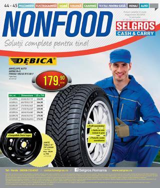 Selgros catalog NONFOOD Sulutii complete pentru tine -  29 Octombrie - 12 Noiembrie 2015